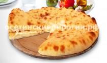 Осетинские пироги с укропом и сыром