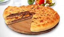 Осетинские пироги с мясом, болгарским перцем