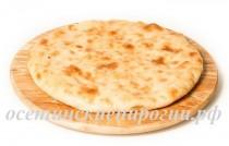 Осетинские пироги с фасолью и грецким орехом (постные)