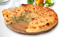 Осетинские пироги с листьями шпината и сыром
