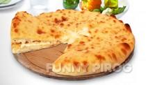 Осетинские пироги с моцареллой и осетинским сыром