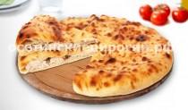 Осетинские пироги с курицей и сыром