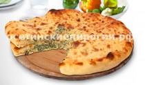 Осетинские пироги с листьями шпината